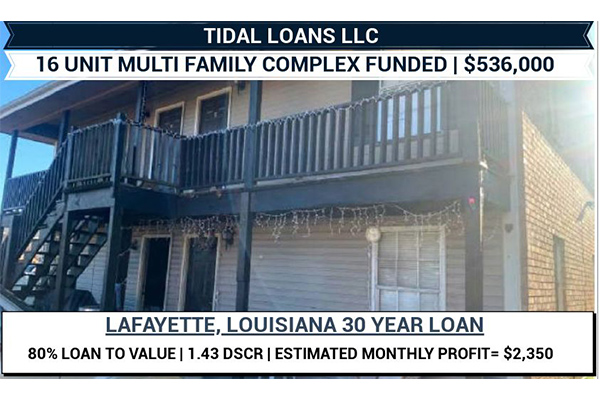 LOUISIANA RENTAL PROPERTY LOANS